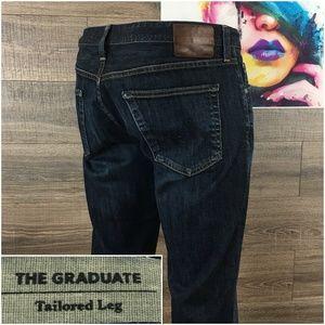 Ag The Graduate Mens Jeans Dark Wash 38x32